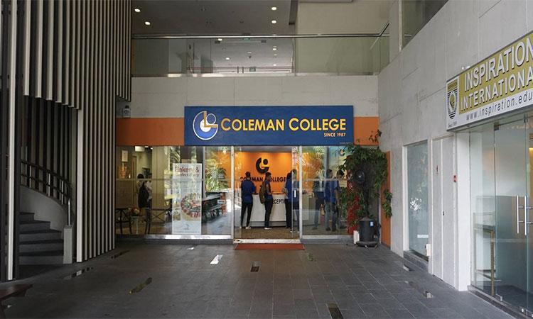 COLEMAN COLLEGE – MỘT NƠI CHO HỌC TẬP CHẤT LƯỢNG TẠI SINGAPORE